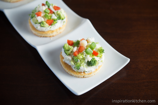 Cream Cheese Vegetable Pizza 02 | Inspiration Kitchen