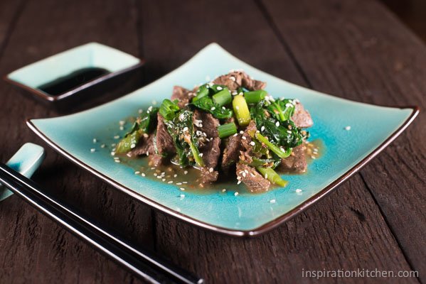 Sesame Beef Stirfry 05 | Inspiration Kitchen