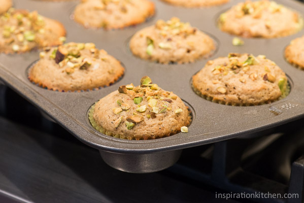 Pistachio Chai Muffins | Inspiration Kitchen