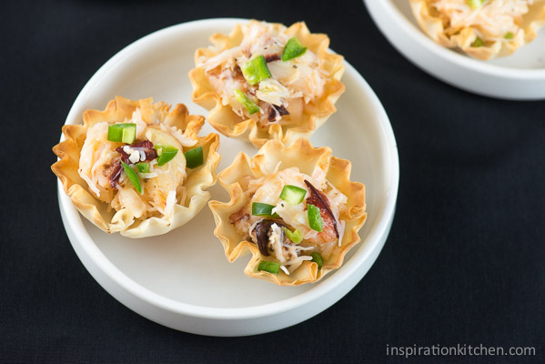 Spicy Crab Phyllo Bites 08 | Inspiration Kitchen