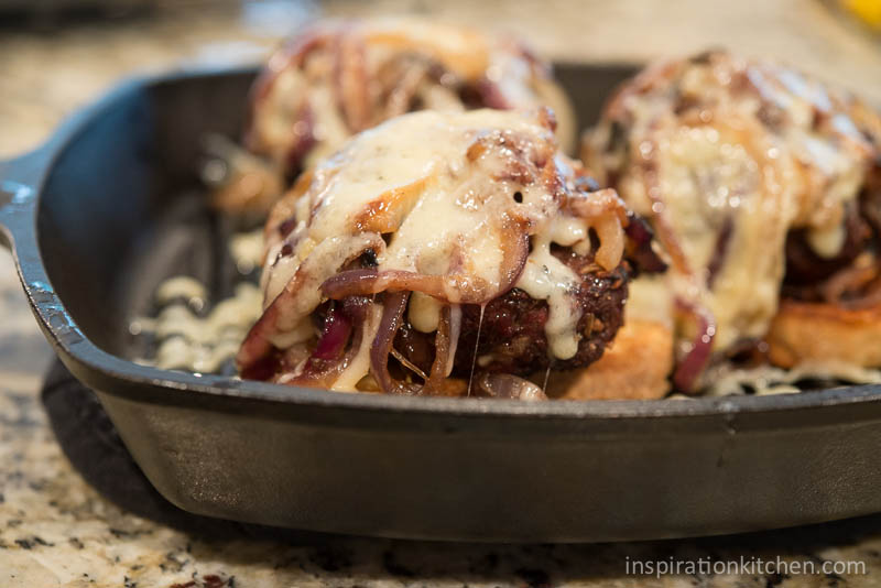 French Onion Soup Burger | Inspiration Kitchen-6683