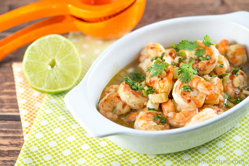 Shrimp Scampi Honey Lime Beer | Inspiration Kitchen